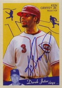 2008 Upper Deck Goudey Ken Griffey Jr Autograph