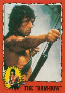 1985 Topps Rambo First Blood Part II Base