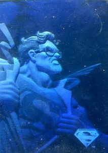 1996 Fleer SkyBox Superman Holo Series 1