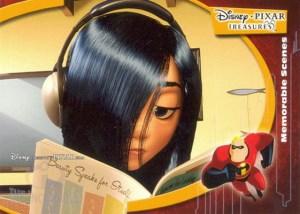 2004 Upper Deck Disney Pixar Treasures Incredibles Greatest Scenes