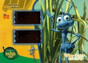 2004 Upper Deck Disney Pixar Treasures Reel Piece of History Bugs Life
