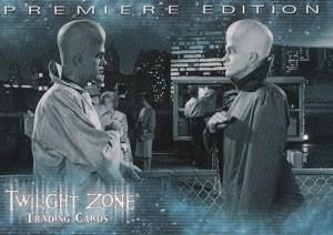 1999 Twilight Zone Premiere Edition Promo Card P1