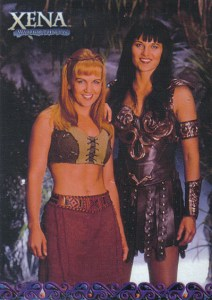 2001 Xena Seasons 4 and 5 Promo Card