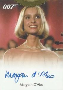 2004 Quotable James Bond Maryam DAbo