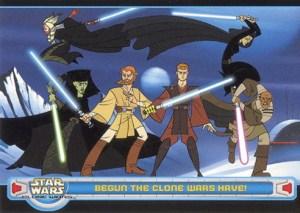 2004 Star Wars Clone Wars Promo Card P2