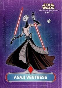 2004 Star Wars Clone Wars Sticker