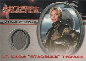 2005 Battlestar Galactica Premiere Edition Costume Card