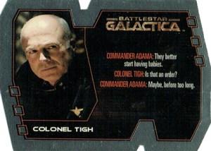 2005 Battlestar Galactica Premiere Edition Quotable