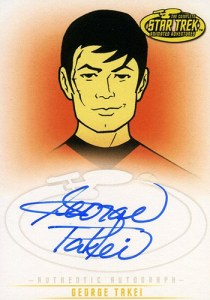 2005 Star Trek Art and Images Autographs A18 George Takei