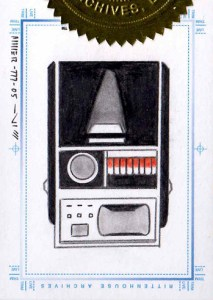 2005 Star Trek Art and Images SketchaFEX Case Topper Tricorder