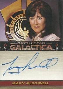 2006 Battlestar Galactica Season 1 Autographs Mary McDonnell