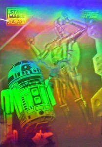 1994 Topps Star Wars Galaxy Series 2 Hologram
