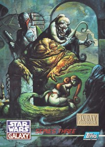 1995 Star Wars Galaxy Series 3 1st Day Production