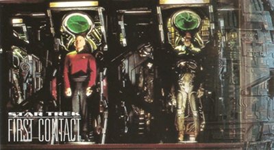 1996 Star Trek First Contact Base