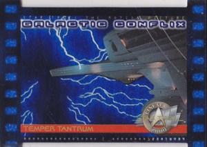 2000 Star Trek Cinema 2000 Galactic Conflix Blue