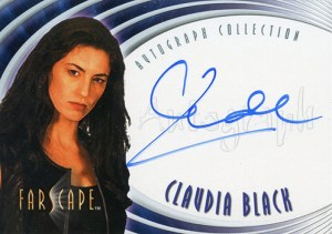 2001 Farscape In Motion Autographs A6 Claudia Black