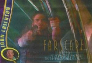 2001 Farscape In Motion Promo Card P1