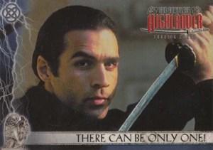 2003 Complete Highlander Promo Card P1