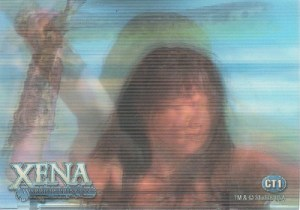 2003 Quotable Xena Case Topper