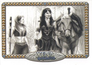 2004 Art and Images of Xena ArtiFEX Lynn