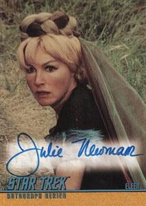 2004 Quotable Star Trek TOS A99 Julie Newmar