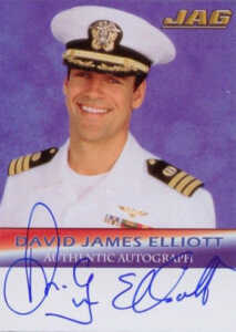 2006 JAG Premiere Edition Autographs A1 David James Elliott