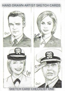 2006 JAG Premiere Edition Sketch Card Checklist