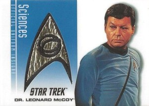 2006 Star Trek TOS 40th Anniversary P3 Dr McCoy