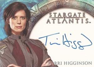 2006 Stargate Atlantis Season 2 Autographs Torri Higginson