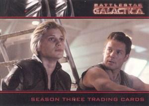 2008 Battlestar Galactica Season 3 Promo Card P2