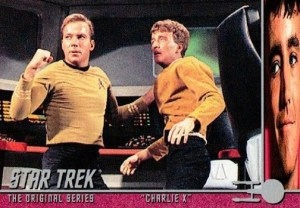 2008 Star Trek TOS 40th Anniversary Series 2 Charlie X