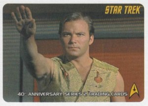 2008 Star Trek TOS 40th Anniversary Series 2 Promo Card