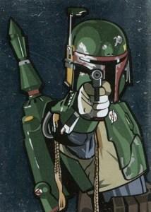2010 Star Wars Galaxy 5 Foil