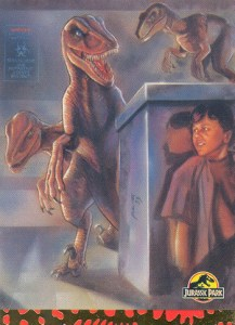 1993 Topps Jurassic Park Art Cards