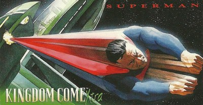1996 Kingdome Come Xtra Promo Card Superman