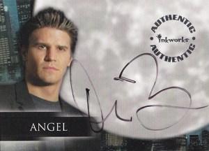 2000 Angel Season 1 Autographs A1 David Boreanaz