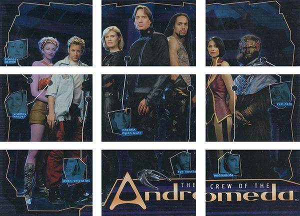 2001 Andromeda Season 1 Crew