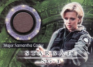 2001 Stargate SG-1 Premiere Edition Costume Cards C3