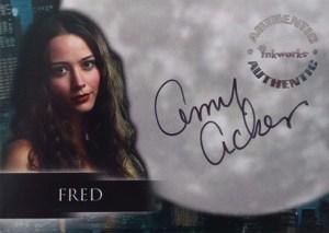 2002 Angel Season 3 Autographs A15 Amy Acker