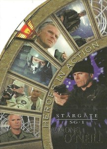 2002 Stargate SG-1 Season 4 Heroes In Action