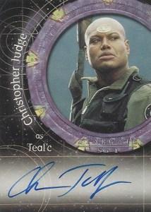 2003 Stargate SG-1 Season 5 A21 Christopher Judge
