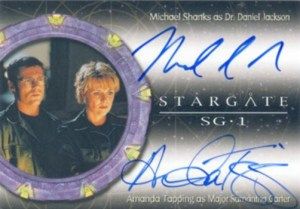 2004 Stargate SG-1 Season 6 Dual Autograph DA1