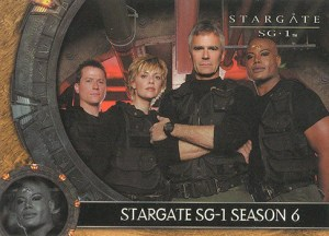 2004 Stargate SG-1 Season 6 Promo Card P1