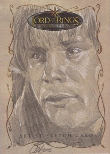 2006 Lord of the Rings Evolution Sketch Card Cat Staggs