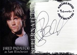 2006 Supernatural Season 1 Autographs A1 Jared Padalecki