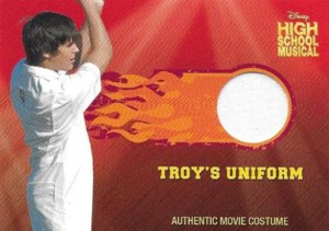 2007 High School Musical Costume Cards Troy