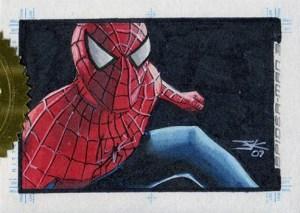 2007 Spider-Man 3 Sketch Cards Jim Kyle