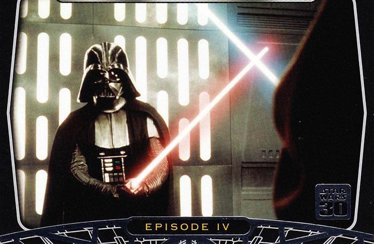 Star wars trading cards checklist details galleries