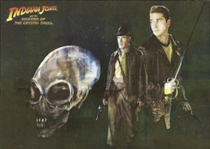 2008 Indiana Jones and the Kingdom of the Crystal Skull Foil