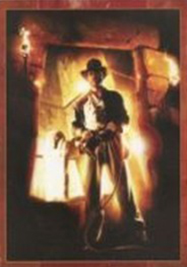 2008 Indiana Jones and the Kingdom of the Crystal Skull Peel and Reveal